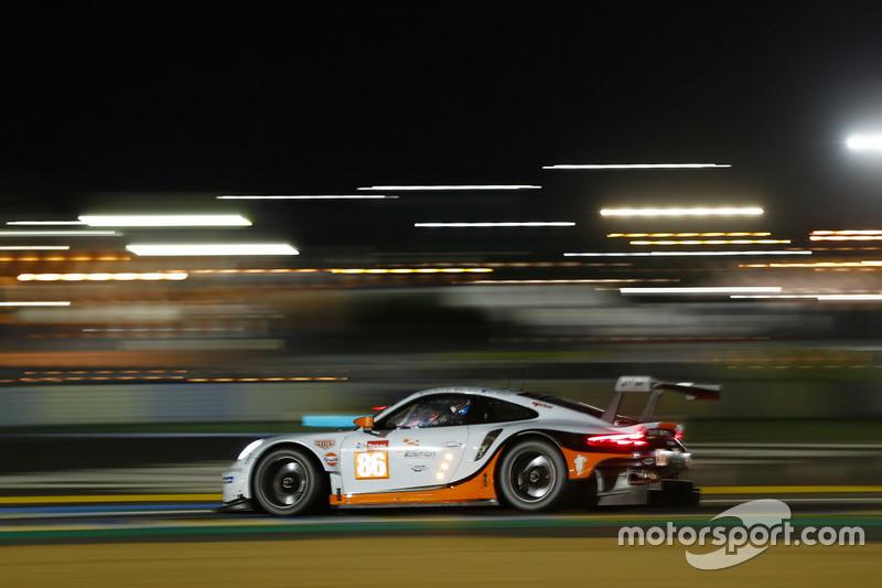 47: #86 Gulf Racing Porsche 911 RSR: Michael Wainwright, Benjamin Barker, Alex Davison, 3'51.391