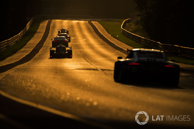Sunset at Le Mans