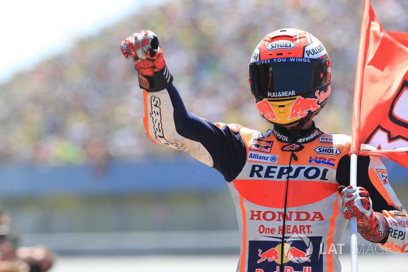 Marc Marquez, Repsol Honda Team, vainqueur