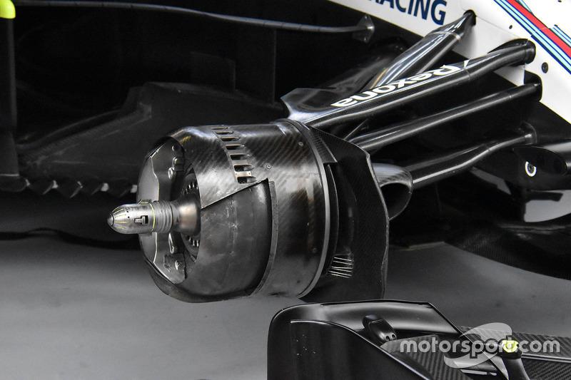 Freno delantero Williams FW41