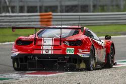 #52 AF Corse Ferrari 488 GTE: Toni Vilander, Pipo Derani