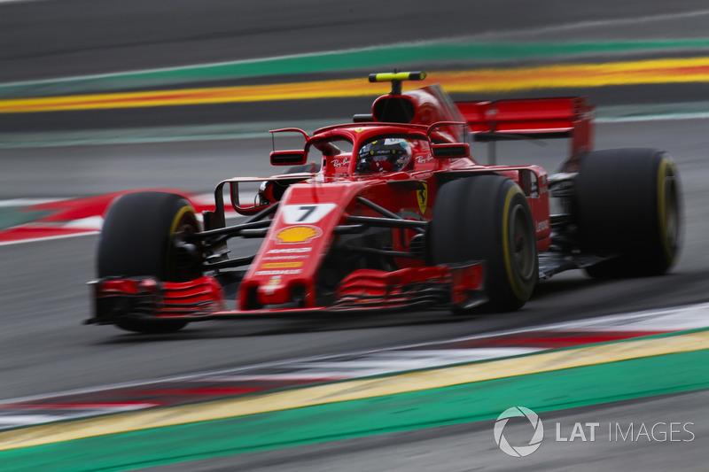 Raikkonen moest twee keer vragen om een pitstop tijdens de kwalificatie