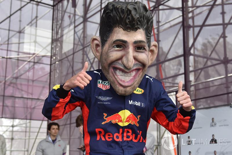 Guiñol de Daniel Ricciardo, Red Bull Racing