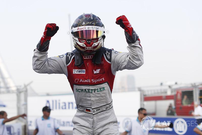 Yarış galibi Daniel Abt, Audi Sport ABT Schaeffler
