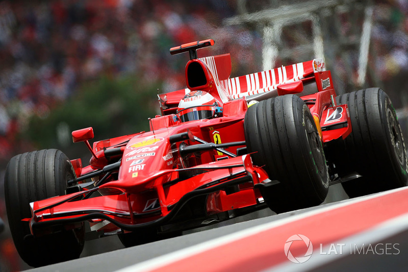 2008. Кімі Райкконен, Ferrari F2008