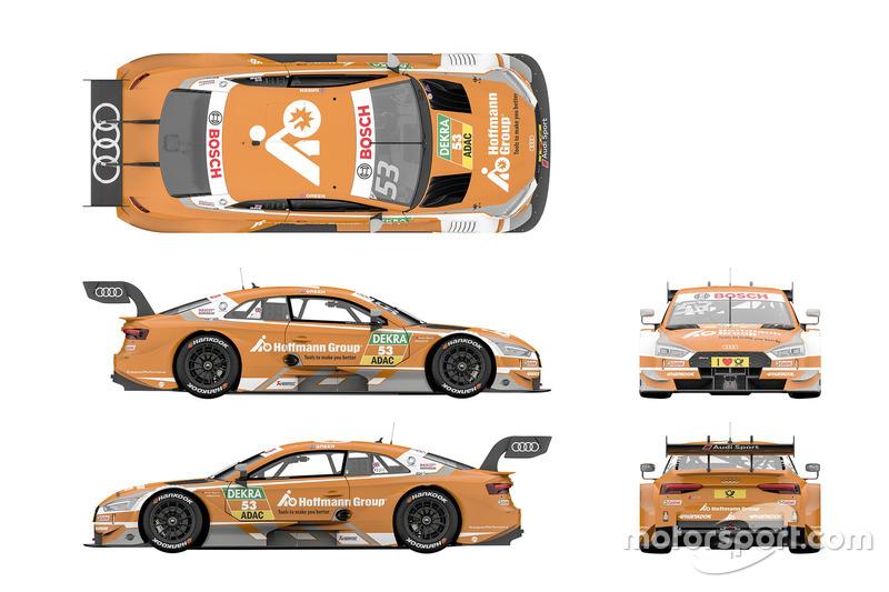 Джеймі Грін, Audi Sport Team Rosberg Audi RS5 DTM