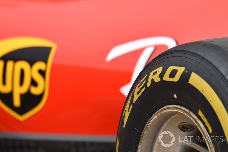 Ferrari et pneu Pirelli
