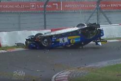 Schreenshot Crash Nico Bastian, AMG Team Black Falcon, Mercedes AMG-GT 3