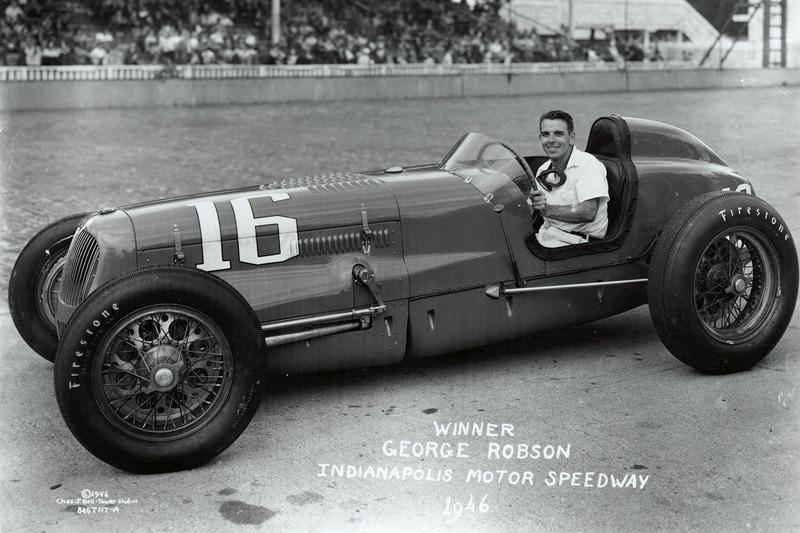 1946: George Robson (1942 bis 1945 kein Indy 500; Zweiter Weltkrieg)