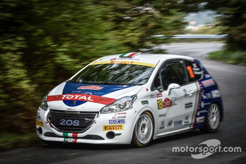 Giuseppe Testa e Daniele Mangiarotti, Peugeot Sport Italia