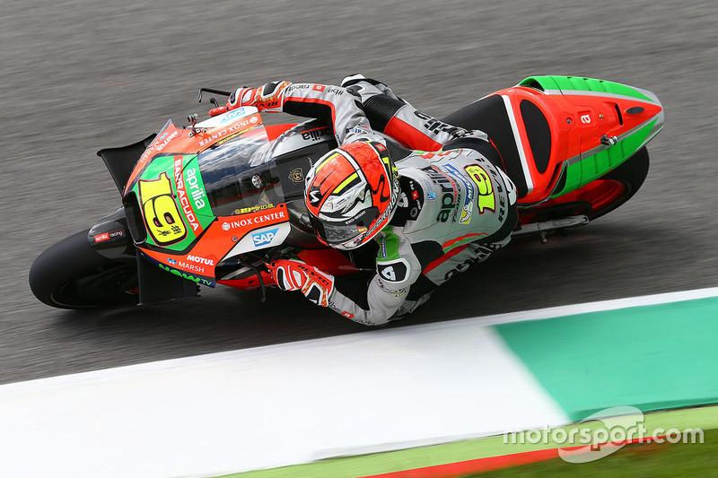Alvaro Bautista, Aprilia Racing Team Gresini