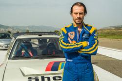 Stefano Accorsi e la Peugeot 205 T16