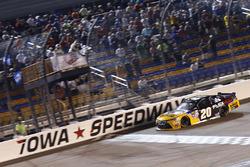 Erik Jones, Joe Gibbs Racing Toyota takes the win