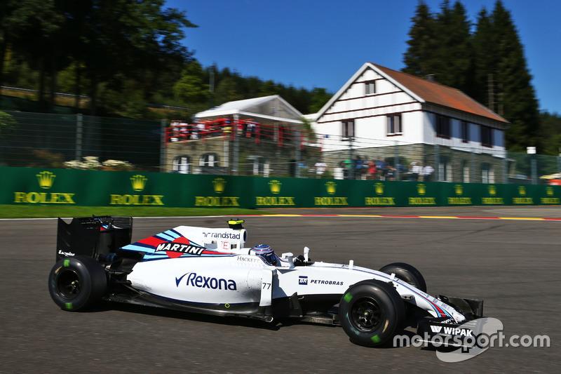 8. Valtteri Bottas, Williams FW38