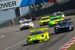 #911 Manthey Racing Porsche 911 GT R: Romain Dumas, Laurens Vanthoor, Earl Bamber