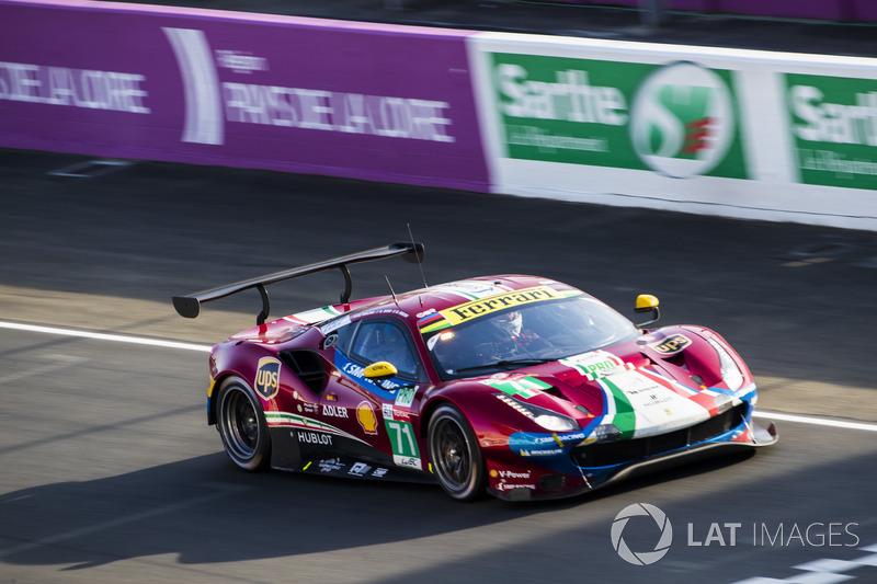 10. LMGTE-Pro: #71 AF Corse, Ferrari 488 GTE EVO