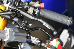 Michael van der Mark, Pata Yamaha handlebar Jonathan Rea, Kawasaki Racingr brake lever