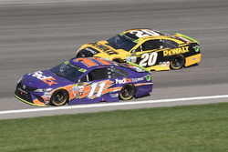 Denny Hamlin, Joe Gibbs Racing Toyota, Matt Kenseth, Joe Gibbs Racing Toyota