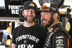 Cole Pearn and Martin Truex Jr., Furniture Row Racing Toyota