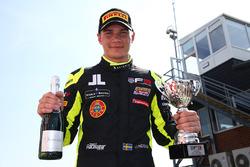 Third place Linus Lundqvist, Double R