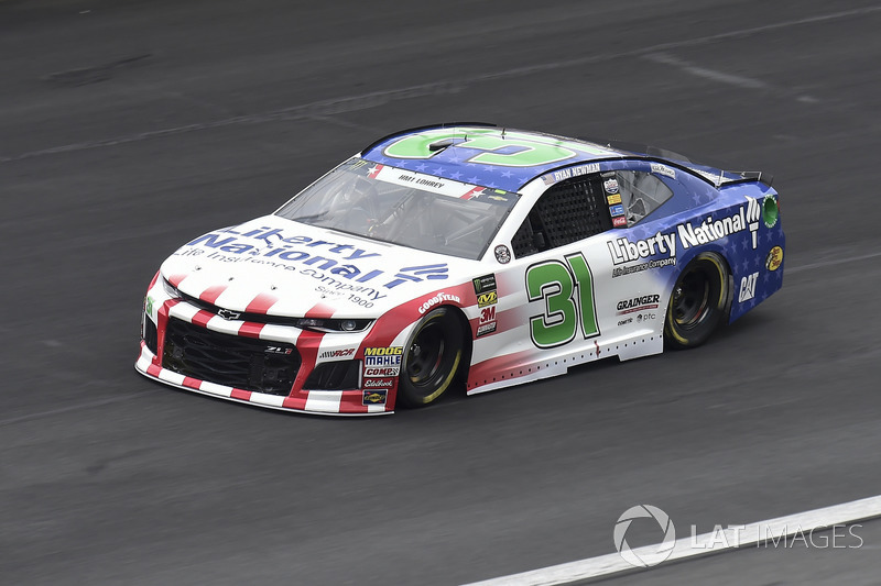 6. Ryan Newman, Richard Childress Racing, Chevrolet Camaro Liberty National