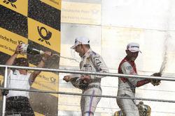 Podium: Marco Wittmann, BMW Team RMG, BMW M4 DTM, Stefan Reinhold, Team principal BMW Team RMG and R