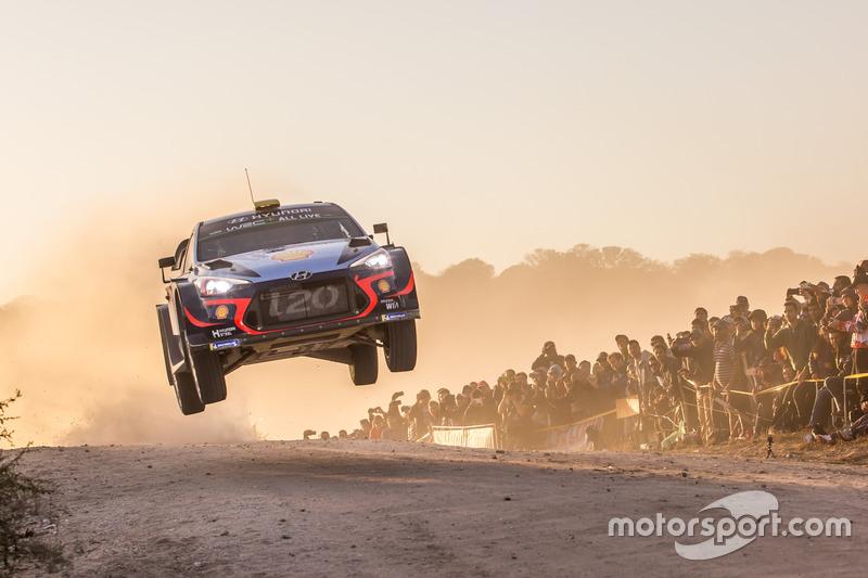6. Andreas Mikkelsen, Anders Jäger, Hyundai i20 WRC, Hyundai Motorsport