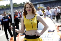 Grid girl of Lucas Auer, Mercedes-AMG Team HWA