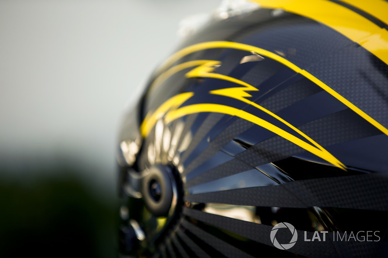 Gran Premio de Australia, casco de Nico Hulkenberg