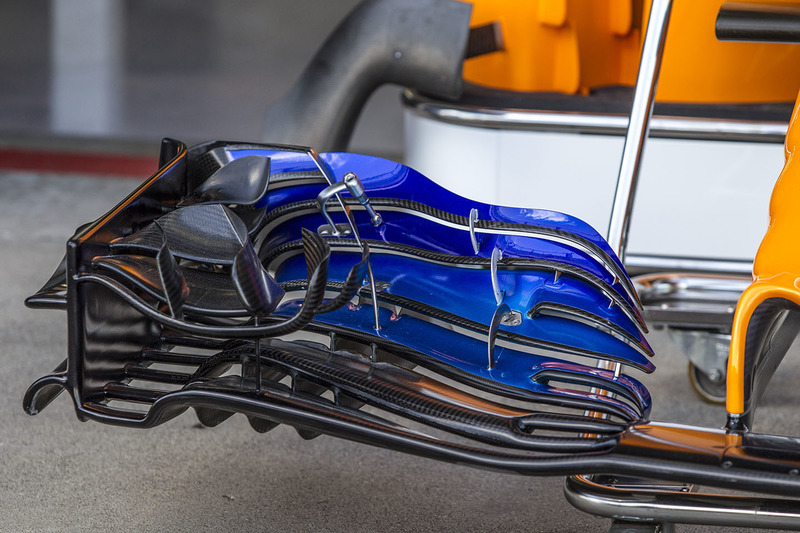 McLaren MCL33 voorvleugel
