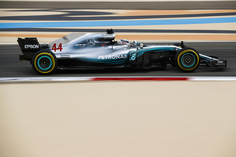 Mercedes F1 W09 ohne Halo (Fotomontage)
