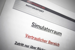 Simulatore del Team Porsche
