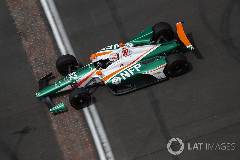 17: Kyle Kaiser, Juncos Racing Chevrolet, 226.398