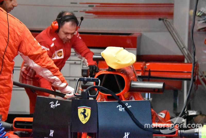 Kantong pendingin Ferrari SF71H