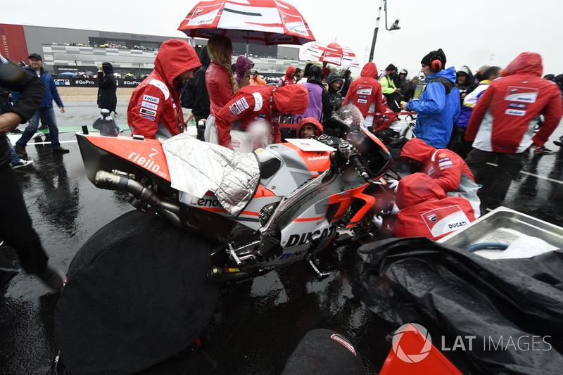 Ducati, British MotoGP race 2018
