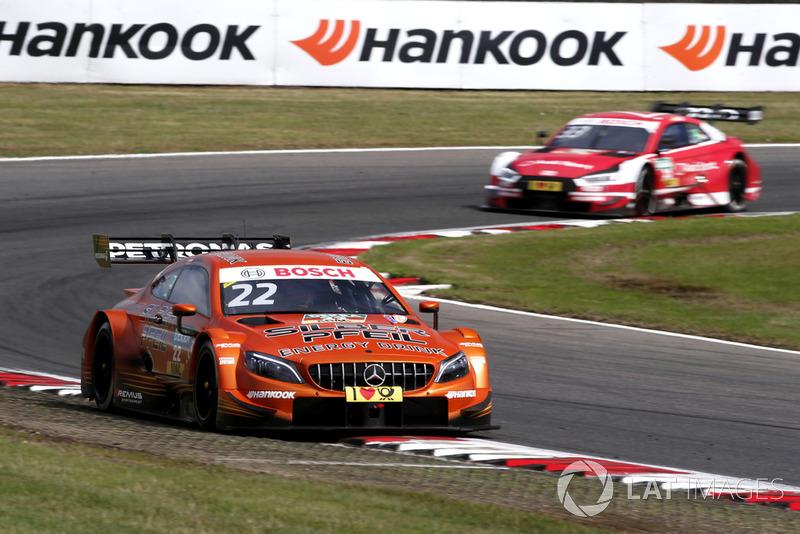 08. Lucas Auer, Mercedes-AMG Team HWA, Mercedes-AMG C63 DTM