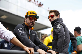 Fernando Alonso, McLaren y Stoffel Vandoorne, McLaren