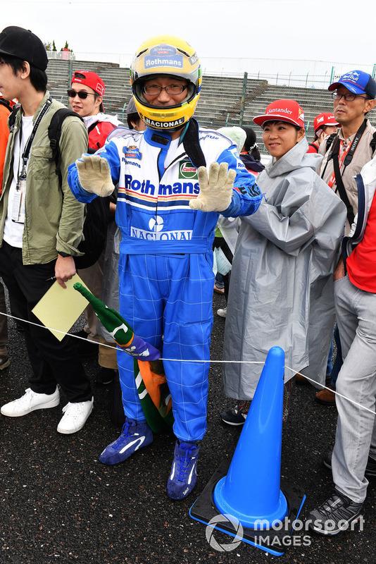Ayrton Senna taraftarı