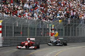 Fernando Alonso, Ferrari F10, Michael Schumacher, Mercedes GP W01