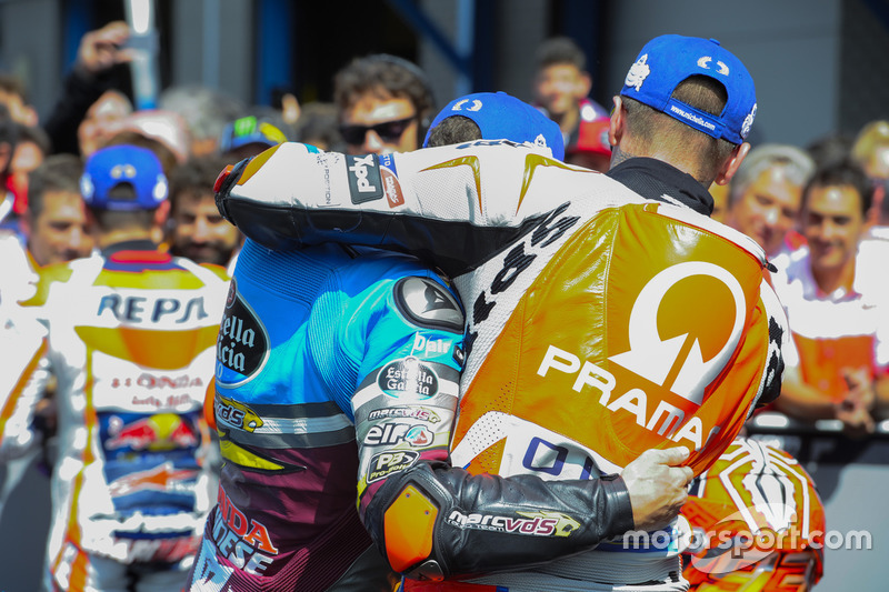 Scott Redding, Pramac Racing y Jack Miller, Marc VDS Racing Honda