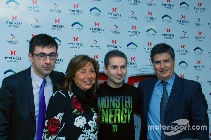 Jorge Lorenzo, Yamaha Factory Racing, bei der Pressekonferenz