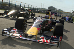 Daniel Ricciardo, Red Bull Racing, in F1 2016