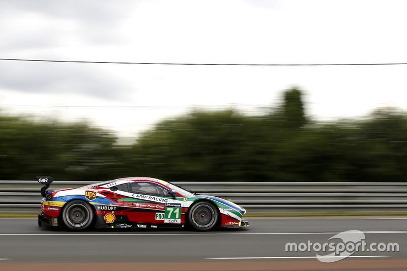 33: #71 AF Corse Ferrari 488 GTE: Davide Rigon, Sam Bird, Andrea Bertolini