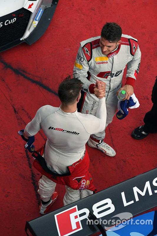 1. Edoardo Mortara, Phoenix Racing Asia; 2. Alessio Picariello, MGT Team