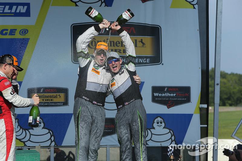 GTD Podyum: 3. John Potter, Andy Lally, Magnus Racing