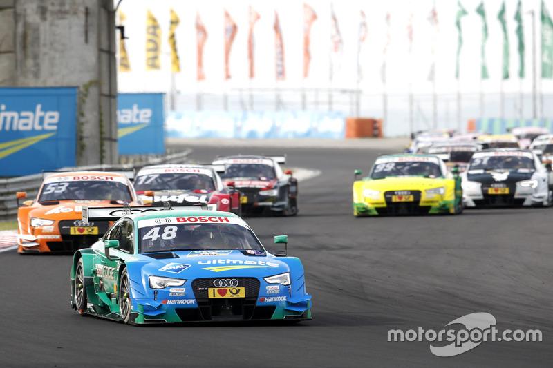 ... Audi einen Sechsfach-Sieg landet