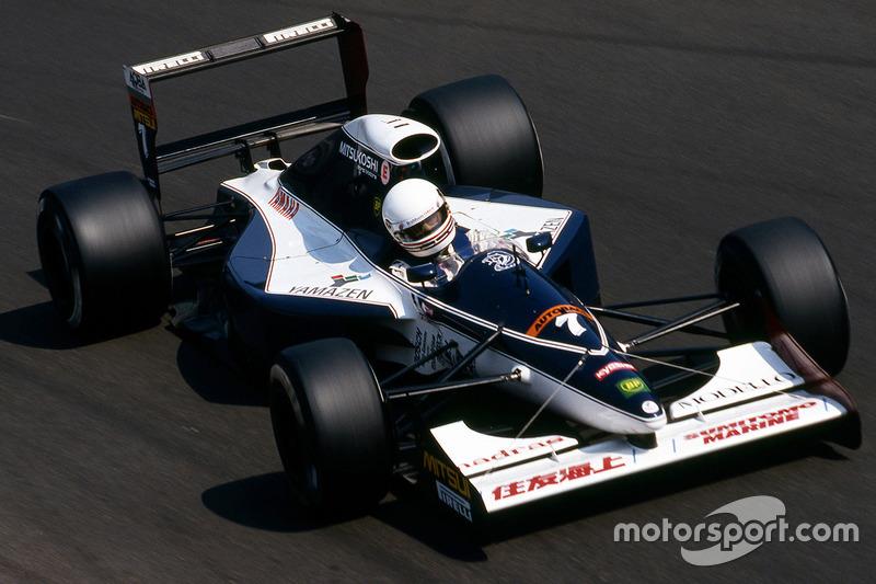 Martin Brundle, Brabham, Yamaha BT60Y