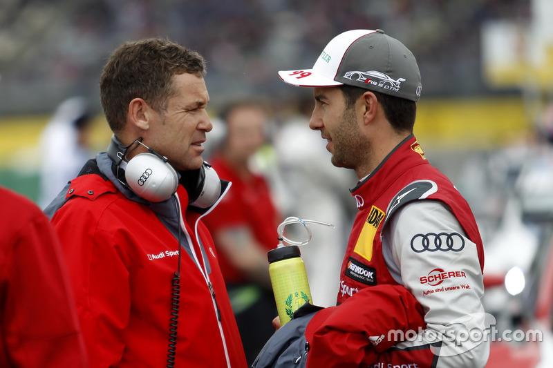 Tom Kristensen and Mike Rockenfeller, Audi Sport Team Phoenix, Audi RS 5 DTM
