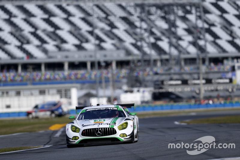 #33 Riley Motorsports Mercedes AMG GT3: Jeroen Bleekemolen, Ben Keating, Mario Farnbacher, Adam Chri