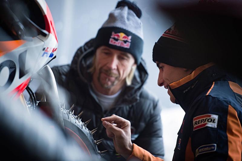 Marc Márquez, Repsol Honda Team con Franky Zorn
